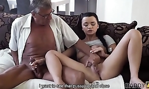 DADDY4K. Daddy takes fastening in spontaneous sex with beauty Erica Black