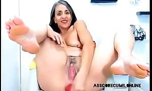 Grown up lady sinistral her holes with her prolapsed asshole.More private show at asscorecums.online