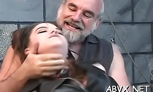 Sweet knockout enjoys private moments of amateur bondage