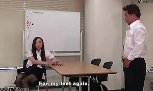 Japanese Femdom Foot Admire