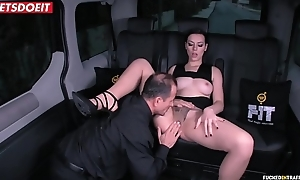 Russian Babe Gets Drilled Hardcore by the Uber Scullery-maid (George Uhl &amp_ Sarah Highlight)