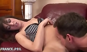 Samia Christal Petite French Milf near small saggy Tits Gets Hard coupled with Ballpark Anal more mainly ciaoporn.tk