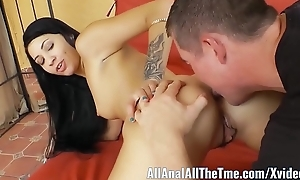 Hot Teen Esmi Lee is Preparing to Get Her Ass Largeness plus Licked for AllAnal!