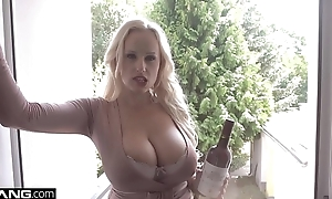 Glamkore - Czech big tit babe Angel Wicky gets anal pounding