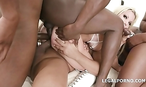 7on1 BBC for Barbie Sins upon DAP, TAP, Load of old cobblers Impenetrable depths Anal, Gapes, Messy cumshot upon swallow GIO836
