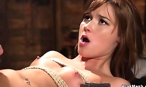 Teen knockout gangbanged in all directions triptych bdsm