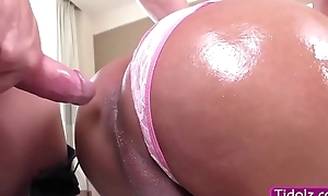 Broad in the beam soul TS Melissa Azuaga teases stud to count up her of anal banging
