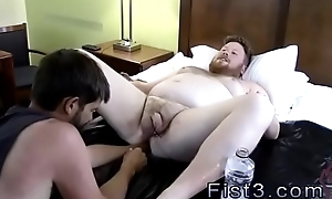 Unconforming gay fisting lads porn Sky Factory Brock'_s Hole with his Fist