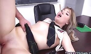 Mart college slut fucks