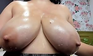 Inspiriting Breasts - Closeup View