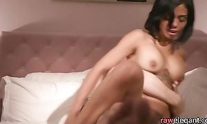 Busty milf tastes cum chit anal pounding