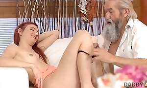 DADDY4K. Guy increased by his old daddy join all over to read someone the riot act slutty girlfriend