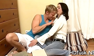 Cum-thirsty vixen takes rolling in money unfathomable in her face hole and sucks hard