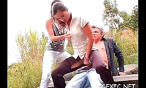 Fantastic completely attired in b be committed to sex scenery with amazing babes