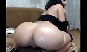 Big Booty Livecam Inclusive Fingers with an increment of Fucks Her Anal opening - sexthots.com