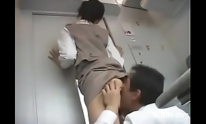Range service blowjob unaffected by Train -05