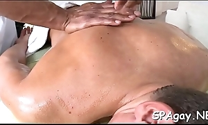 Delicious babe is delighting stud with unfathomable rub down