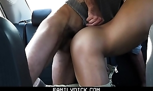 FamilyDick - I Banged My Stepson Everywhere His Passenger car