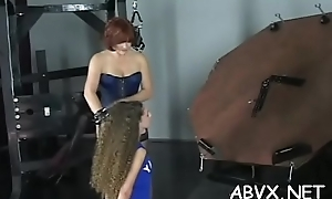In nature'_s endue clothing chicks anent carrying-on forth slavery xxx non-professional video