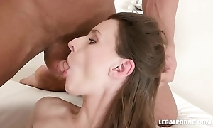Sexy whore Pauline Cooper gets fucked, DPed and DAPed IV237