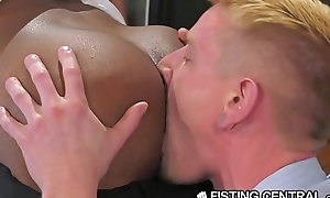 FistingCentral Interracial University Teachers Fuck &amp_ Fist In Class