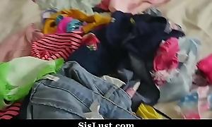 Confrere Cock Grind Beside Slutty Breast-feed Twat