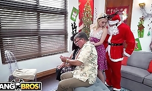 BANGBROS - Petite Young Bazaar Anastasia Knight Fucked By Dirty Santa Claus!