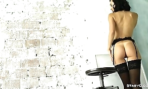 Compilation of gorgeous russian babes teasing in POV video