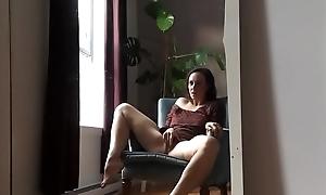 Milf Masturbating To Orgasm