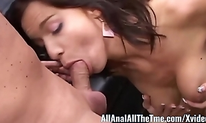 Sexy Rattle on Babe Karina Receives Pest Fucked for AllAnal!