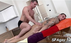 Blue homosexuals are having lusty 69 slant suckings