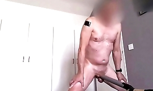 vacuumcleaner suck my dig up handsfree to cumshot bis