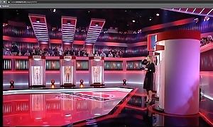 Dutch porno on TV Denuded for love