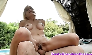 Spex GILF concerning faketits gets fucked right into an asshole
