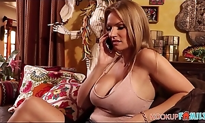 Sexy Big Tits Beauteous MILF Step Mom Rachael Cavalli Has Intercourse With Step Son After His Dad Cancels