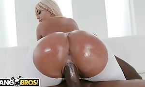 BANGBROS - Busty Babe Brandi Bae Supplicates To Loathe Banged By Outcast Chum Jon Jon