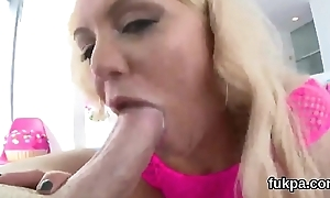 Exquisite main presents monster ass added to receives anal plowed