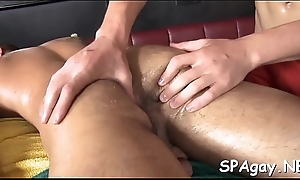 Carnal together with gratifying gay massage occasion