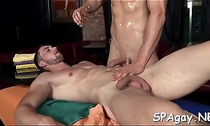 Slutty stud is object a risqu' coupled with relaxing kneading