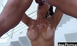 Spicy Latina twin penetrated by big dicked hunk perfection