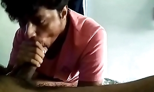 Desi Blithe Boy Doing Oral stimulation Part Four