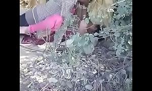 Desi Indian Married slut screwed outdoors