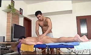 Deep anal hammering with lusty womanly chaps