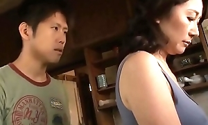 Asian MILF Cant Resist Her Stepson