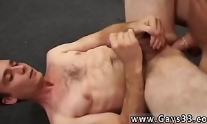 Straight guy cumming by oneself and men jacking lacking playing with butthole