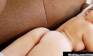 Dick Milker Nina Kayy Throat Banged By A Big Black Cock!