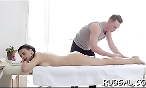 Teen nymph is obviously throbbing nearby receive coarse shagging