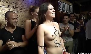 American slut tourist disgraces ourselves
