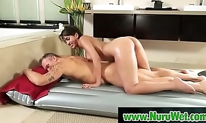 Milf masseuse sucking big cock - Marcus London &amp_ Sophia Leone