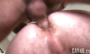 Gay friends Derek and Vadim enjoying awe-inspiring blissful sex